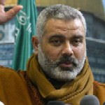 [Picture of Ismail Haniyeh]